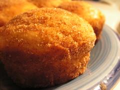 Cinnamon & Jam Donut Muffins
