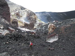 Inside Cerra negro (johnaz_424) Tags: with nicaragua janine