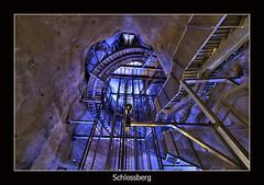 Blue (nune) Tags: blue light architecture stairs wow austria perspective staircase graz hdr 2007 schloßberg anawesomeshot superaplus aplusphoto superbmasterpiece ysplix