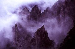 CHINA - The Yellow Mountain (BoazImages) Tags: china mountain nature yellow rock fog clouds landscape ilovenature scenery asia earth formation geology carst anhui geographile frhwofavs boazimages lpmountains