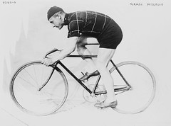 View No Known Restrictions: Norman Anderson on Racing Bicycle, 1914 from the Bain Collection (LOC) on Flickr