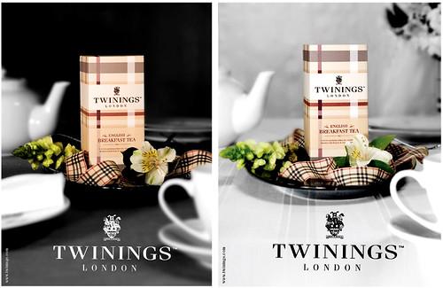 Twinings Re-Branding Fashion Ads