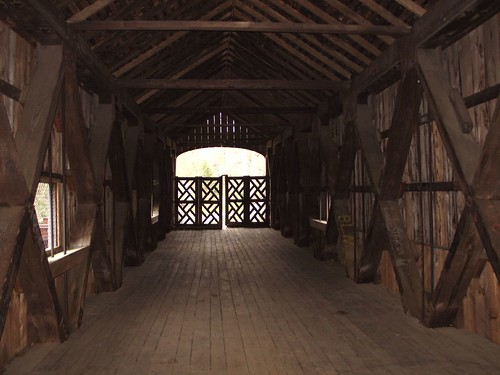 Interior of Wooden Bridge