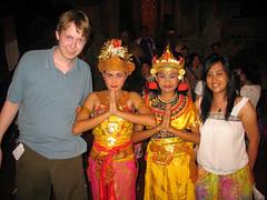 Ramayana dance artists
