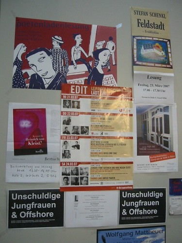 Buchmesse Posters