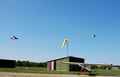 Glider Tow At Red Stewart Airport