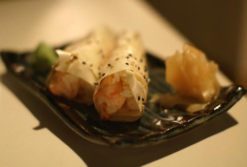 Baked crab roll - Katsu-Ya, Los Angeles
