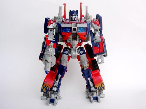 Juguete de Optimus Prime en robot