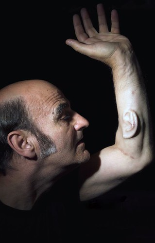 Stelarc's Ear PORTRAIT taken by nina sellars by k0re.