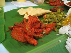 Curry (Felix_KL) Tags: food art geotagged this restaurant leaf asia asien southeastasia nirvana eating indian 2006 curry it banana eat malaysia asie kuala kualalumpur kl culinary bangsar lumpur nirwana felixhaller funnyfelix geo:lat=3131067157071777 geo:lon=1016708539744748