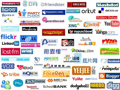 digg habbo vox facebook flickr smulweb hyves linkedin logo last fm msn