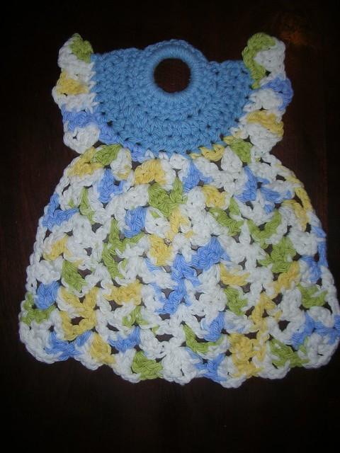Ravelry Little Dress Cotton Dishcloth Pattern By Janelle Schlossman