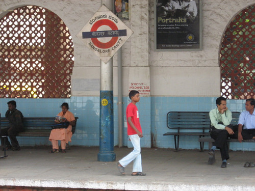 Bangalore station taken by Callum