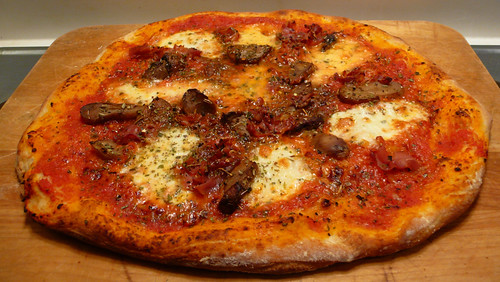 Another porcini pizza