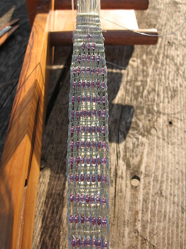 Weaving with Wire and Beads