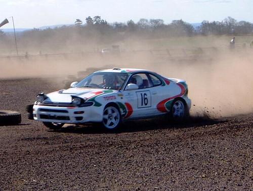 Toyota Celica Gt4 Rally Car. Toyota Celica GT4 Charterhall