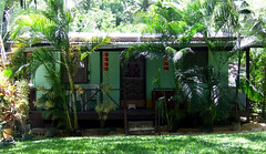 Saipan, A'be's house - porch (*caramimi*) Tags: red plants house color green home nature garden asian gold design natural chinese exotic tropical decor isla tropics saipan guma micronesia islandlife oceania uncleabe westernpacific cnmi naturalliving antoi antoinetteceles caramimi northernmarianas