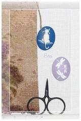 Imanes y tijeras - marco