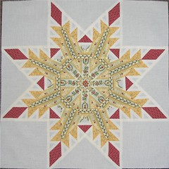 Feathered Star Quilt Block (WendysKnitch) Tags: quilt sewing quiltblock featheredstar