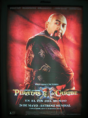 Chow Yun-Fat on Pirates 3 poster