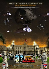 Offitial Peruvian StarWars30 Celebration Poster