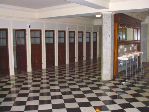 Mens Room of the Majestic Hotel Harrogate, England