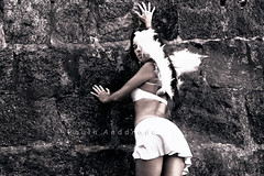 in a dream (_Paula AnDDrade) Tags: bw art angel fairytale photography artistic surreal fantasy fotografia tica paulaanddrade