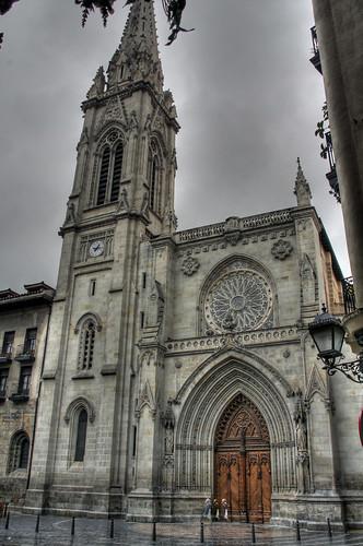 Catedral de Bilbao por basajauntxo.