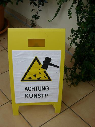 ACHTUNG KUNST!!