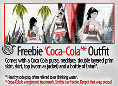 Freebie 'Coca-Cola' outfit
