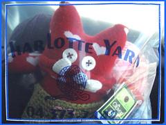 stuart perfectly happy (gray la gran) Tags: knitting knit stuart softie softies knitted yarns stupidsockcreature charlotteyarn