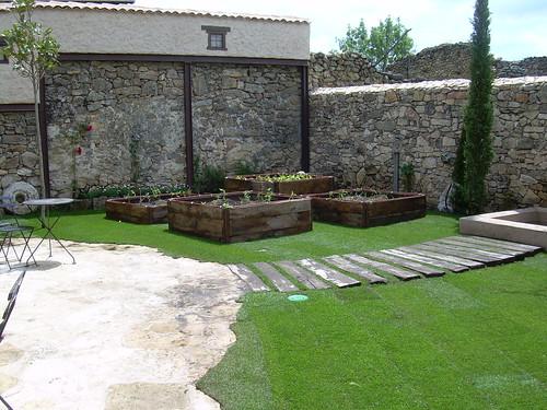 imagens jardins rusticos : imagens jardins rusticos:DyJ Jardines combinados, rústicos y tradicionales – DyJ