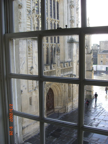 View of Bath Abbey by Woolmark