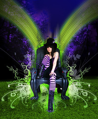 Mad_hatter (abstrak_05) Tags: art illustration photomanipulation willywonka madhatter