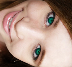 Sea Green (kkelly2007) Tags: sea portrait selfportrait green me girl photoshop eyes lips pale crop cropped