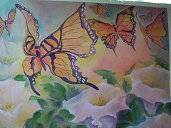 butterflies (sophiadelaat) Tags: veil paintings