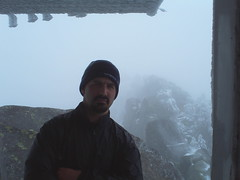 Me on the Lookout Tower on Mt. Pilchuck (9/29/07)