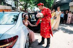 by Nguyen Quoc Huy (nguyenquochuy.vn) Tags: nguyenquochuy vietnamweddingphotography destinationwedding weddingtraditionsinvietnam church outdoor groom love family bride