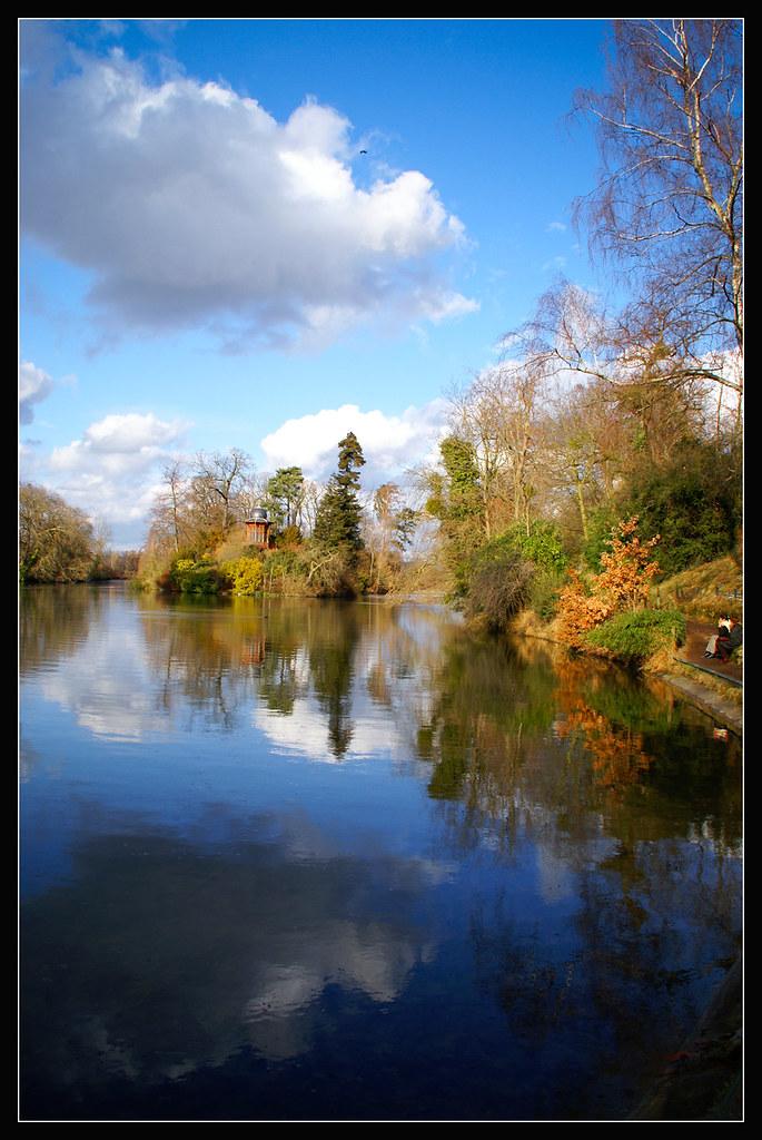 Bois de Boulogne in February
