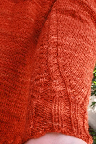 Seaming detail