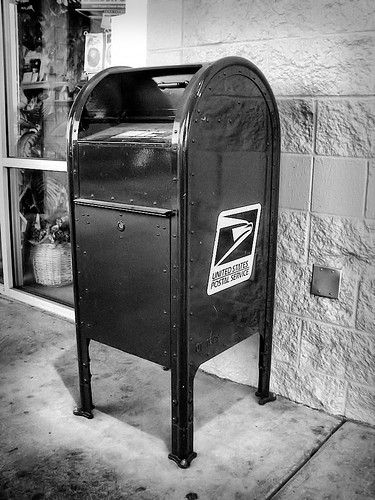 DP Theme Day: A Public Mail Box