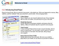Paper Gmail