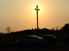 Sunset Cross 2 - by jaqian