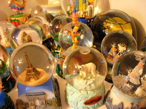 jade's snow globe collection