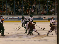 Frozen Four Championship Game (RobGreenKC) Tags: college ice hockey boston four frozen state michigan stlouis missouri championships ncaa frozenfour