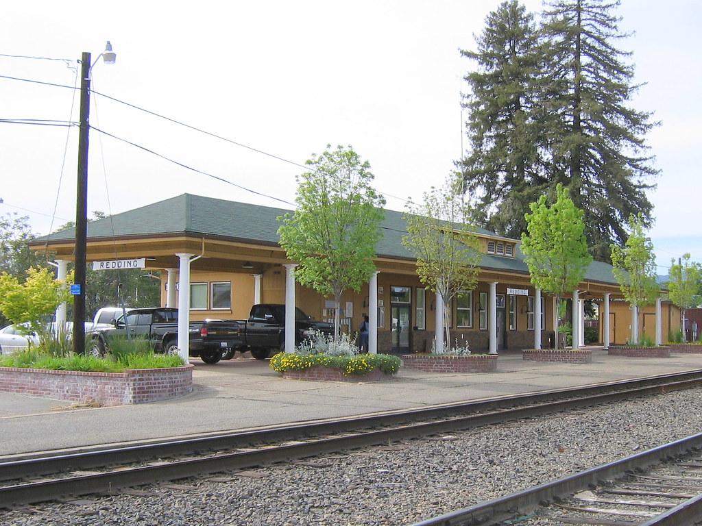 Redding, CA train station