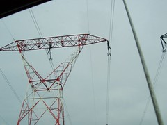Tower in Paris (DeFerrol) Tags: tower power line powerlines voltage altatension