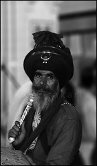 Composure (Chitrakari) Tags: portrait india interestingness cool shots prayer explore sacred turban sikh punjab contemplate scripture whisk singh outstanding theface akali outstandingshots nihang anawesomeshot talwandi holidaysvacanzeurlaub diamondclassphotographer