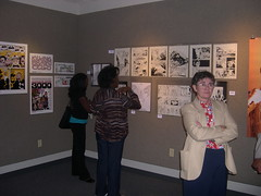 OH Opening Trevor Von Eeden (otherheroes) Tags: eye art comics other african exhibition american comix heroes trauma