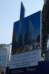Broadgate Tower poster - imposing